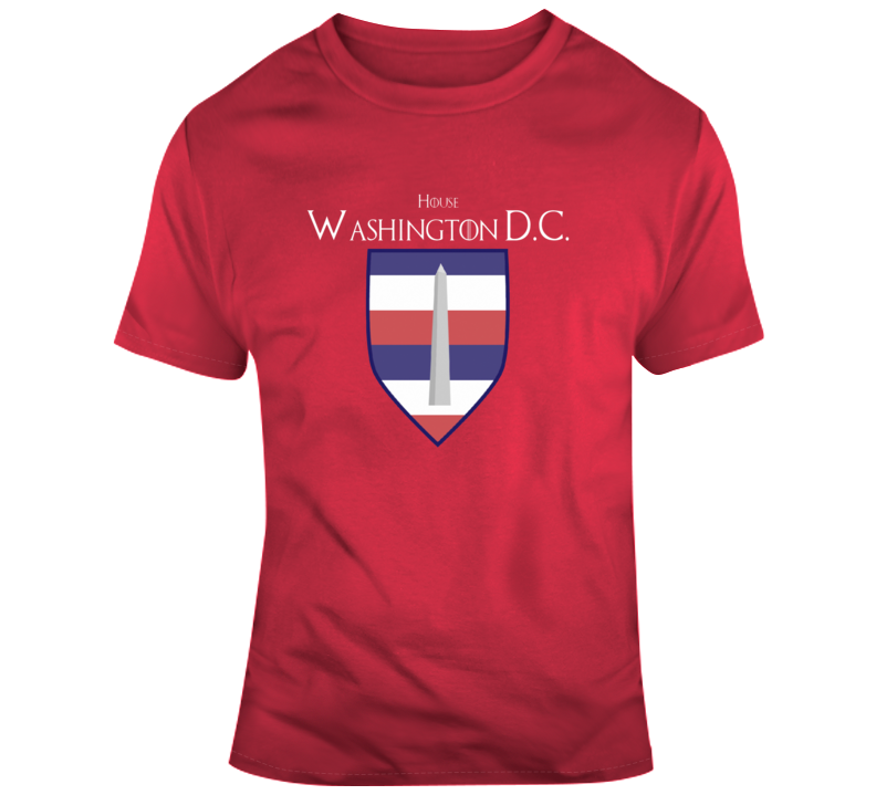 House Of Washington Wizards Games Of Thrones Parody T-shirt