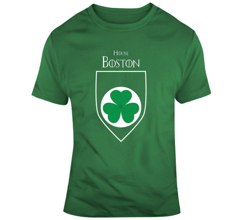 House Of Boston Celtics Games Of Thrones Parody T-shirt