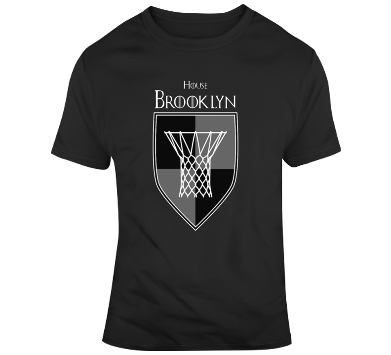 House Of Brooklyn Nets Games Of Thrones Parody T-shirt