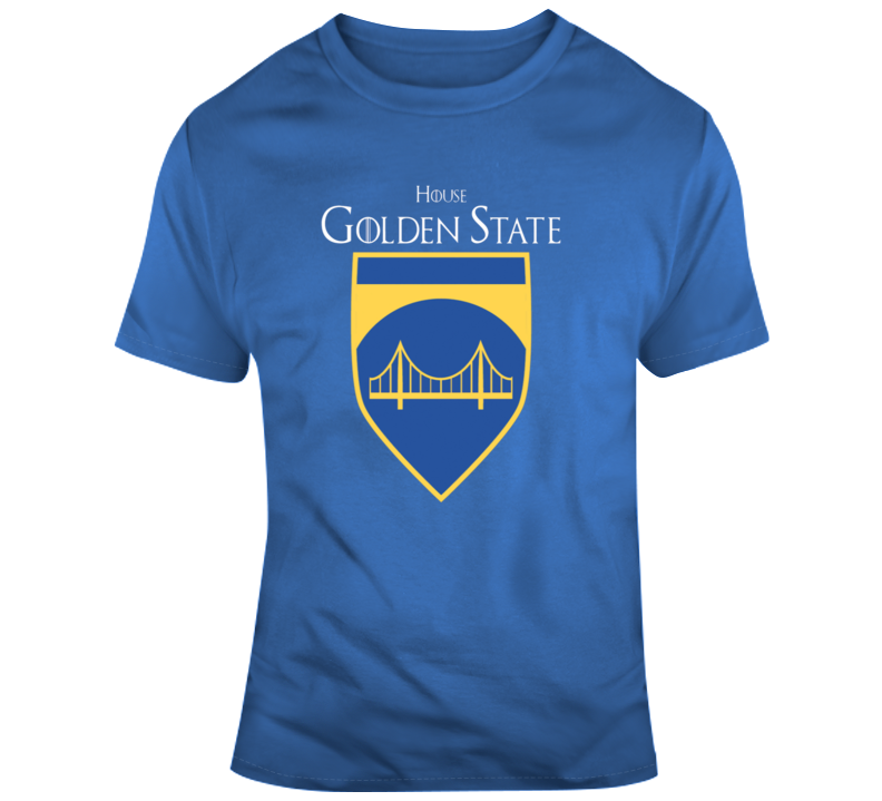 House Of Golden State Games Of Thrones Parody T-shirt