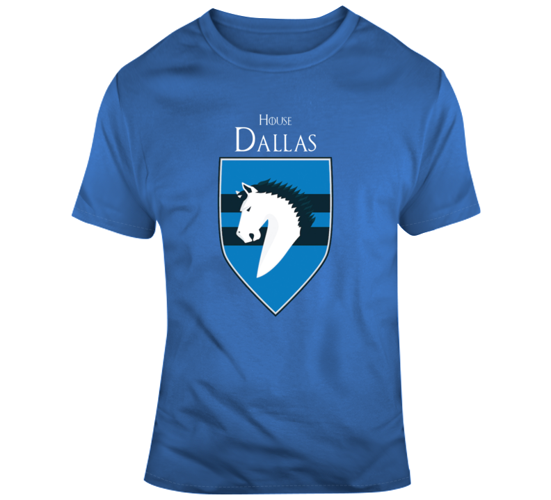 House Of Dallas Mavericks Games Of Thrones Parody T-shirt