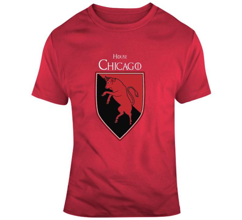 House Of Chicago Bulls Game Of Thrones Parody T-shirt