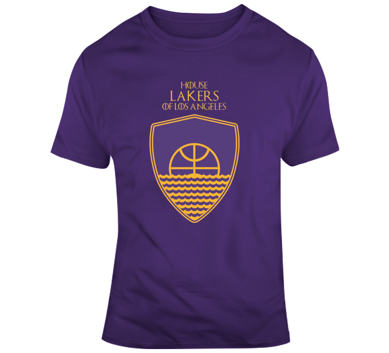 House Of Los Angeles Lakers Games Of Thrones Parody T-shirt