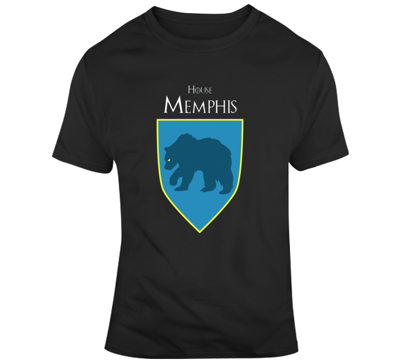 House Of Memphis Grizzlies Game Of Thrones Parody T-shirt