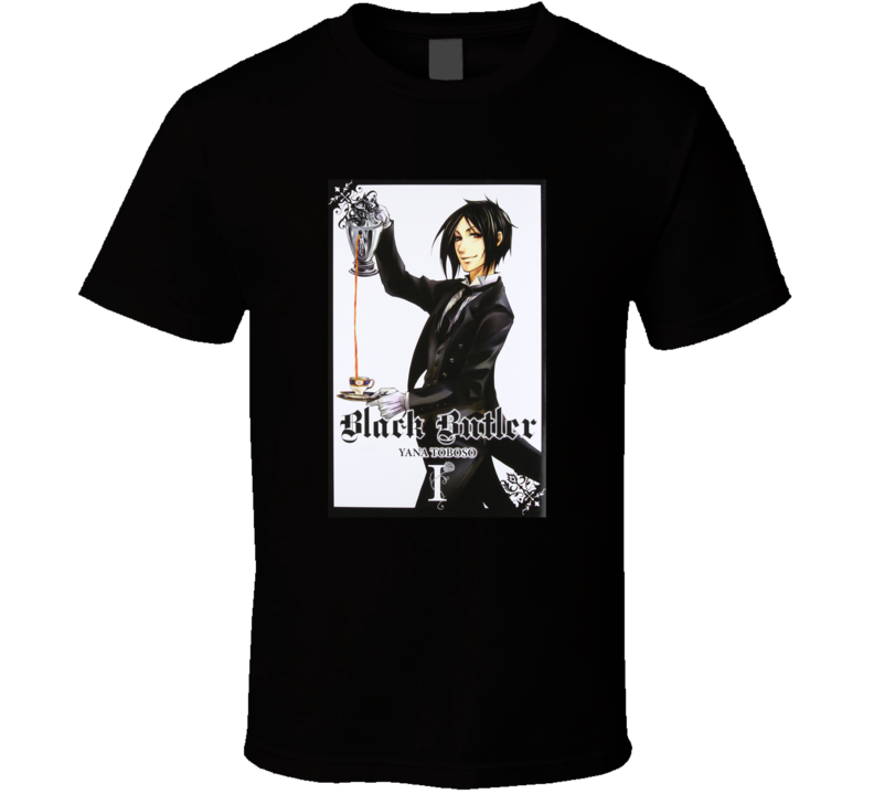 Black Butler Anime T-shirt