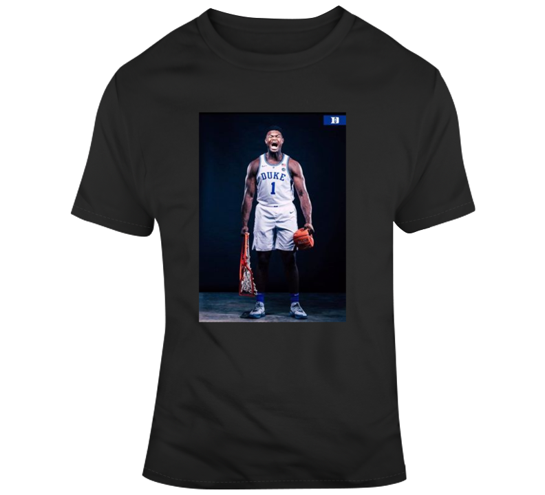 Zion Williamson Basketball Duke Brothers Basketball T-shirt