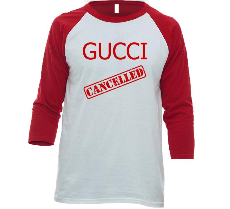 Cool Gucci Cancelled Political Parody T-shirt