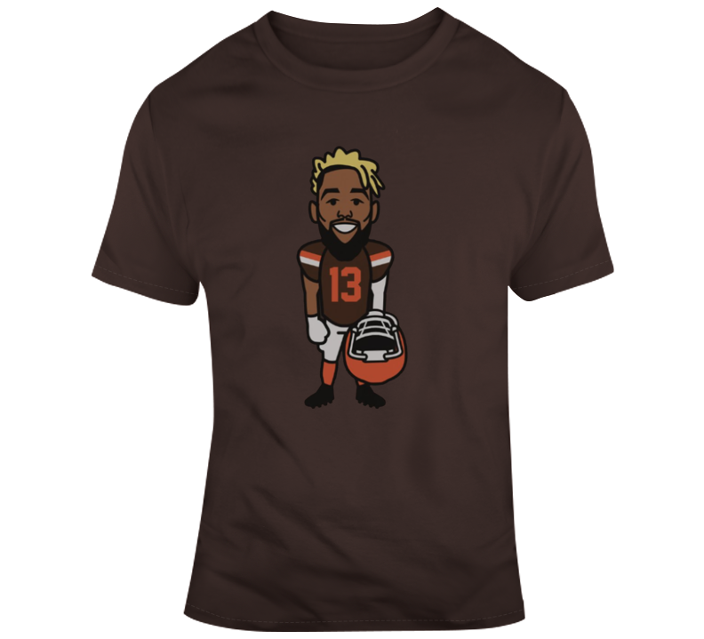 Cool Odell Beckham Jr Cleveland Brown T-shirt