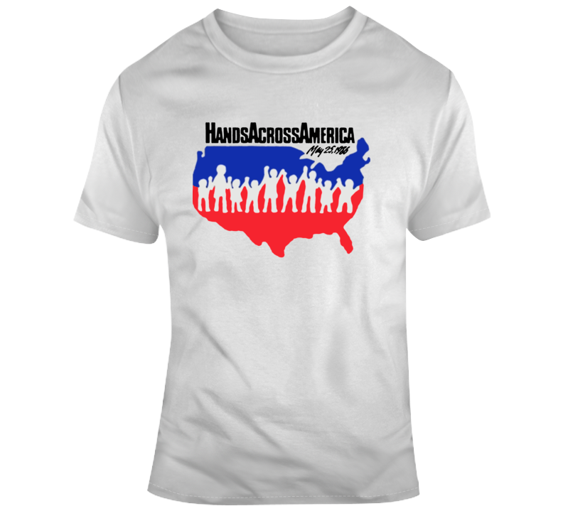 Us Movie Hands Across America T-shirt