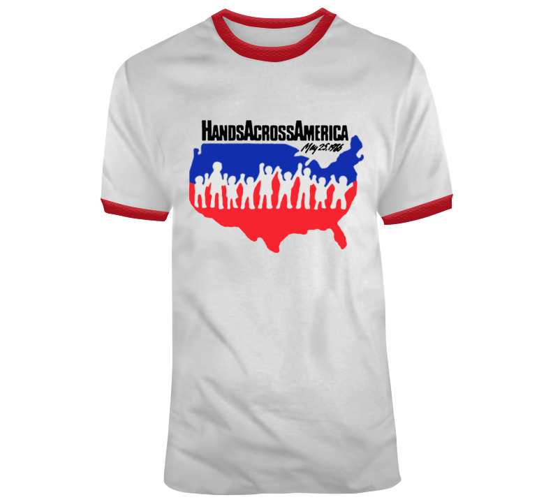 Hands Across America T-shirt
