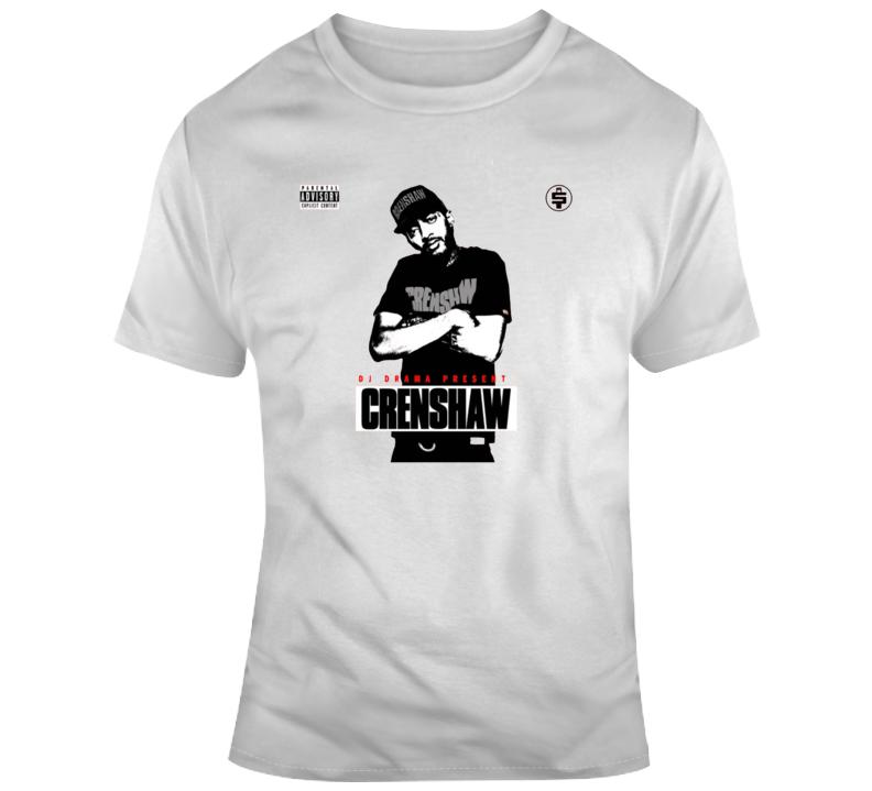 Nipsey Hussle 1000 Dollar Crenshaw Album Mixtape T-shirt