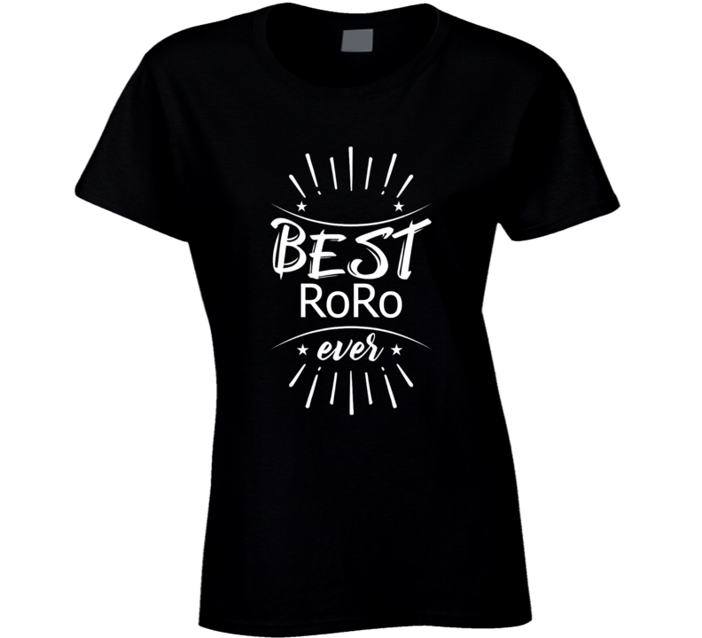 World's Best Roro T-shirt