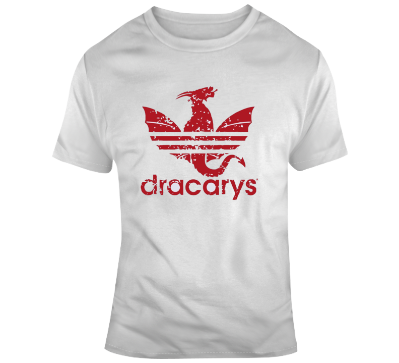 Dracarys Game Of Thrones Mother Of Dragons Adidas Parody T-shirt T Shirt