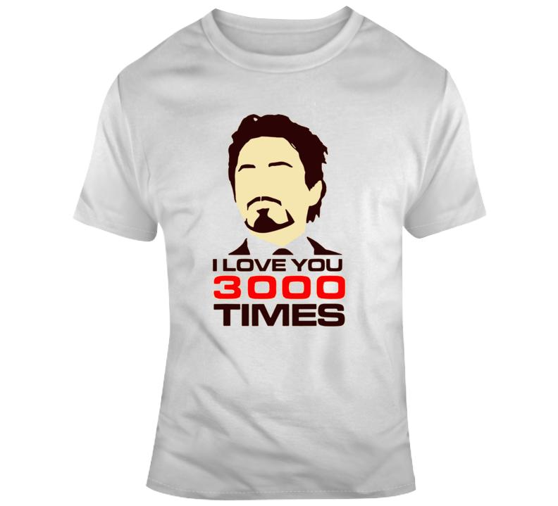 Love You 3000 T Shirt