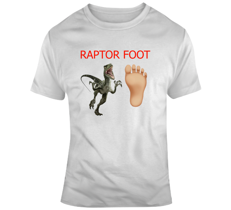 Raptors Foot Raptors We The North T Shirt