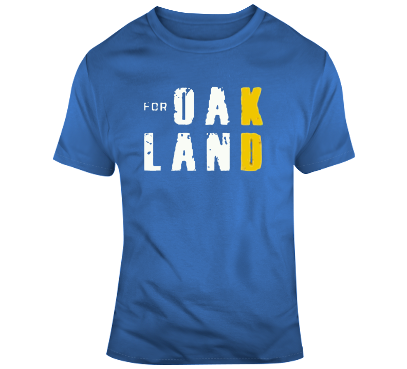 For Kd For Oakland Tribute T Shirt