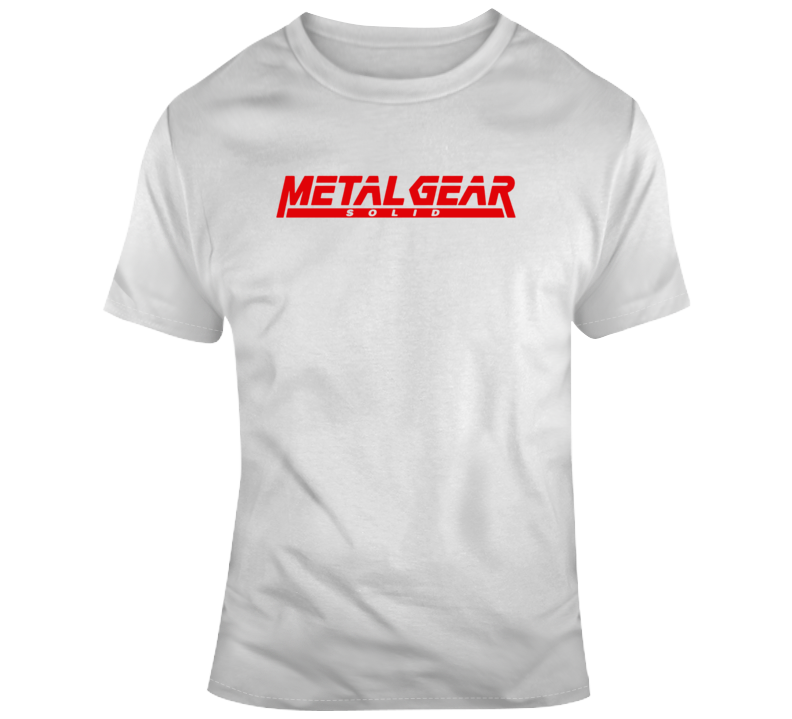 Metal Gear Solid Retro T Shirt