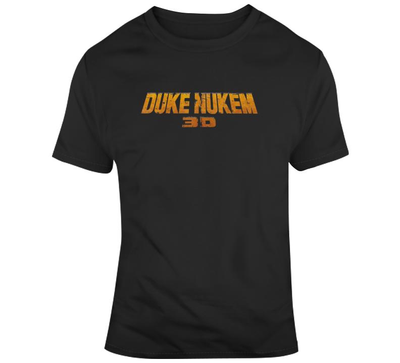 Cool Retro Duke Nukem 3d T Shirt