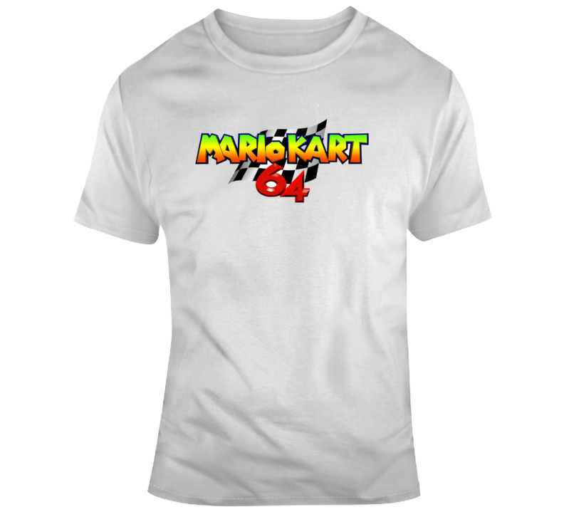Mario Cart 64 Retro T Shirt