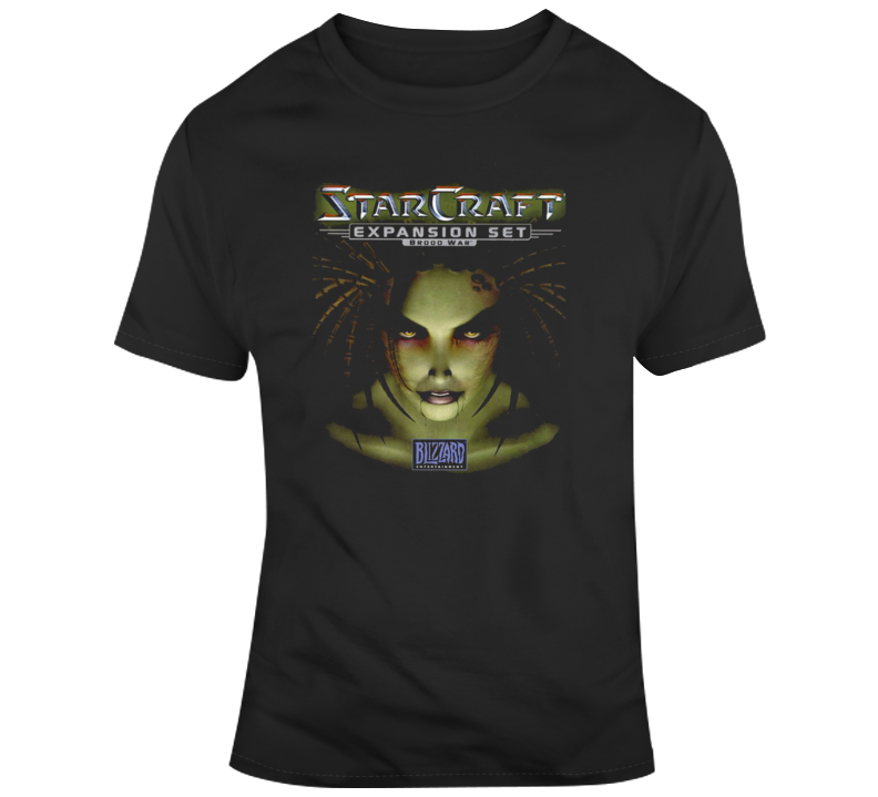 Starcraft Broodwar Kerrigan T Shirt