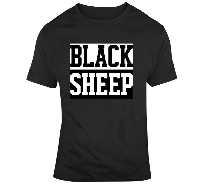 Black Sheep Parody T Shirt