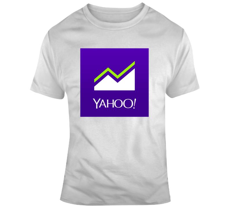 Yahoo Finance Logo T Shirt