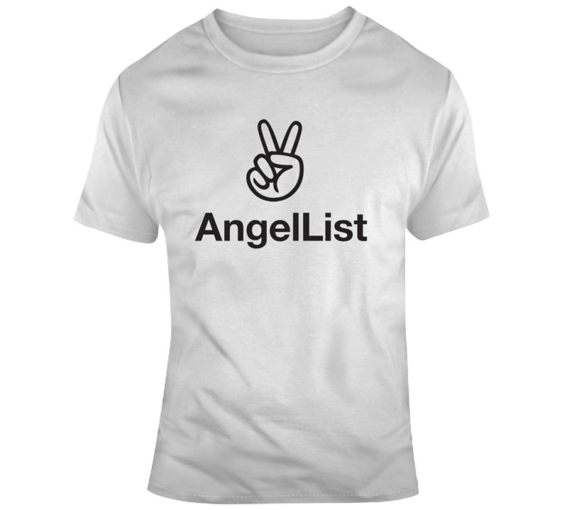 Angel List Company Logo T Shirt