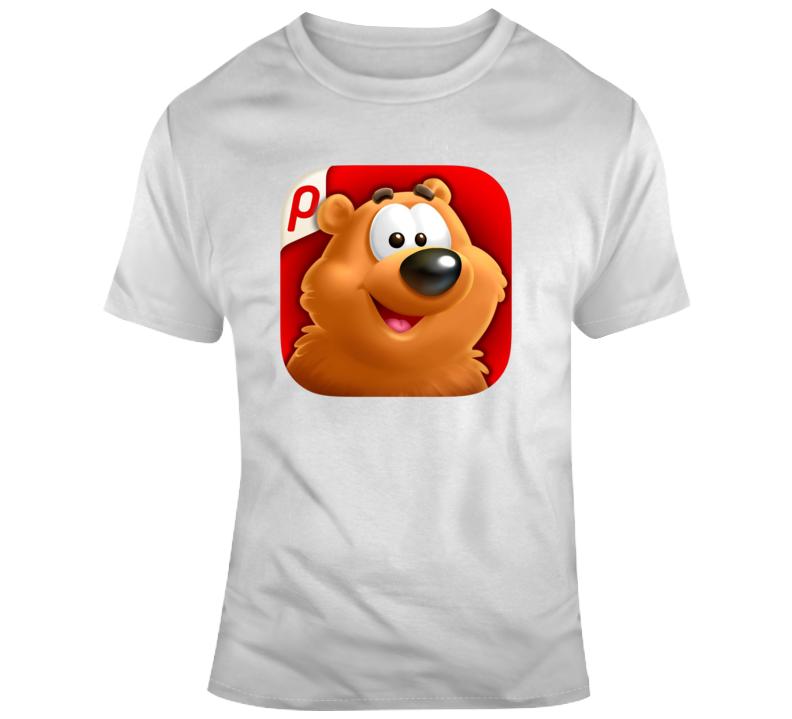 Toon Blast App Logo T Shirt