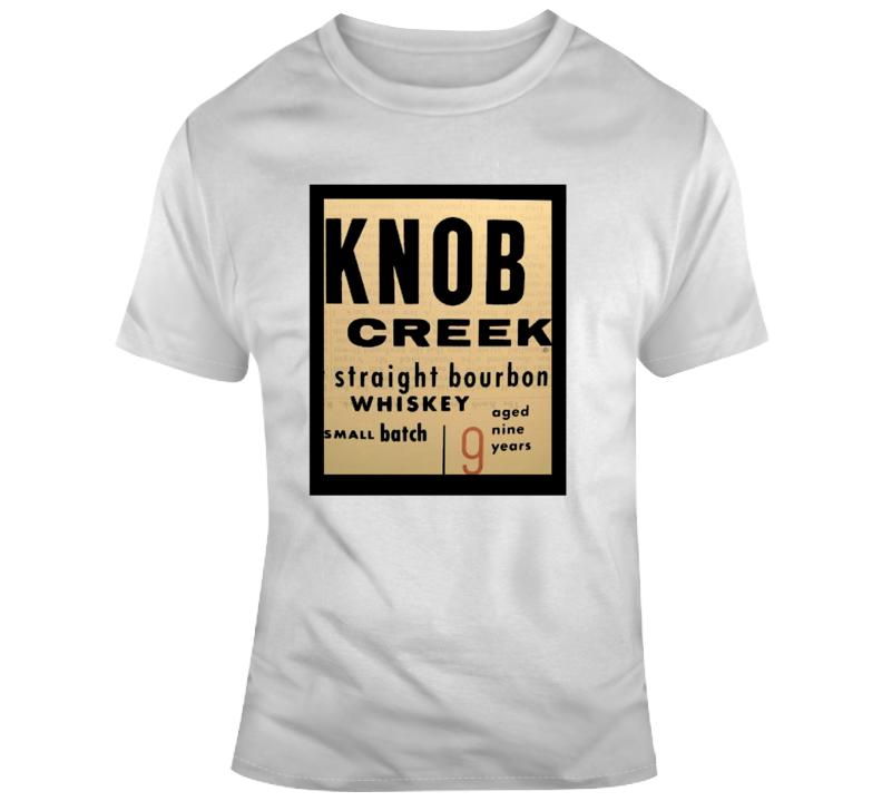Knob Creek Bourbon Whiskey T Shirt