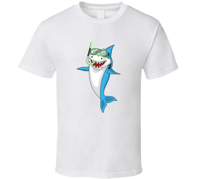 Shark Snorkel T Shirt
