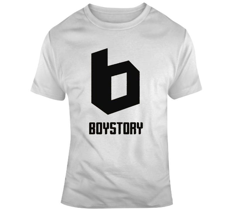 Boy Story Chinese Group Logo T Shirt