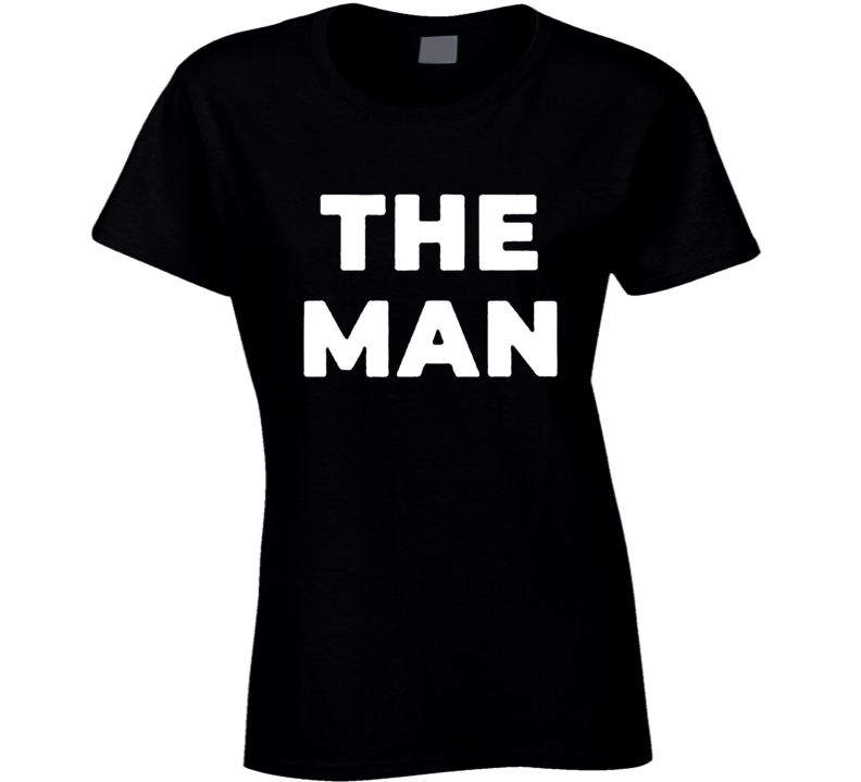 Becky Lynch The Man Ladies T Shirt