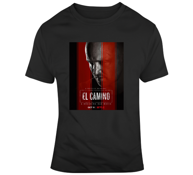 El Camino Breaking Bad Poster Fan Image T Shirt