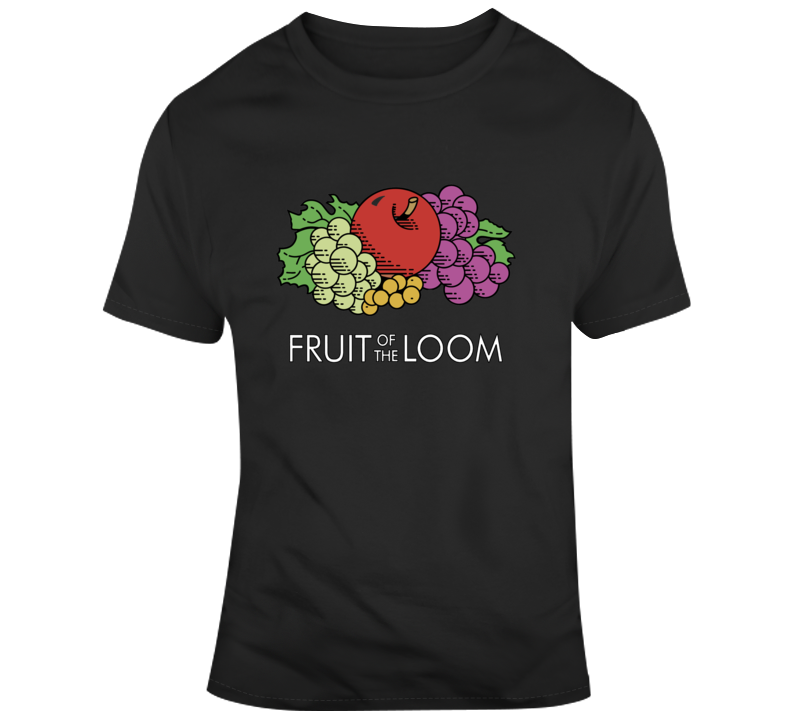 Fruit Of The Loom Company Logo T Shirt
