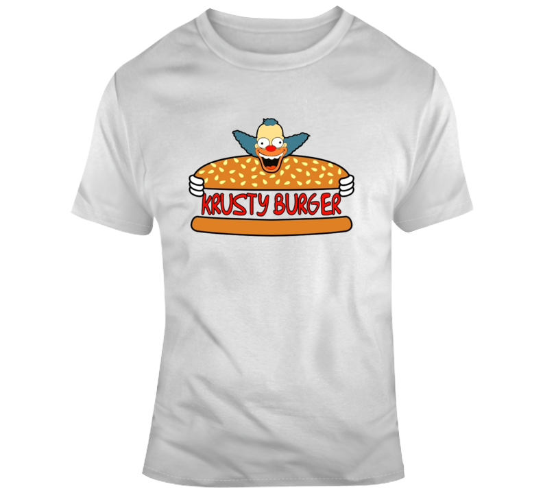 Krusty Burger Logo T Shirt