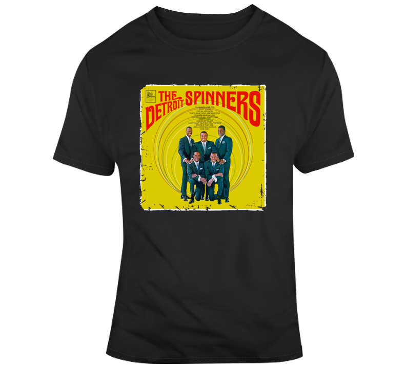 The Detroit Spinners Group Vintage T Shirt