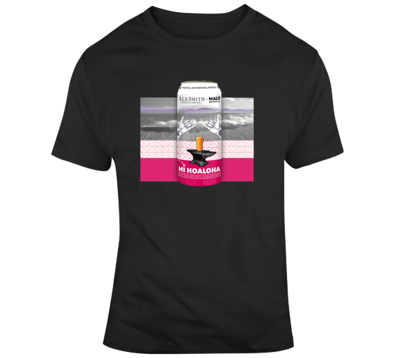 Hoaloha Beer Alesmith T Shirt