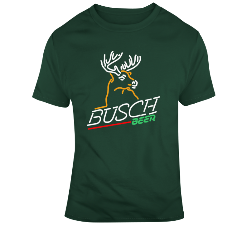 Busch Beer Company Logo Fan T Shirt