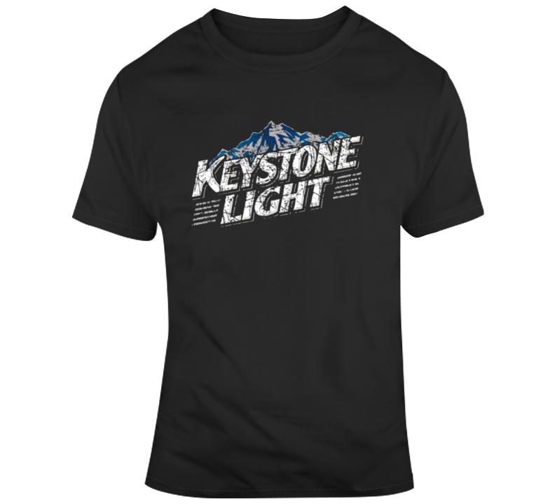 Key Stone Light Beer Fan T Shirt