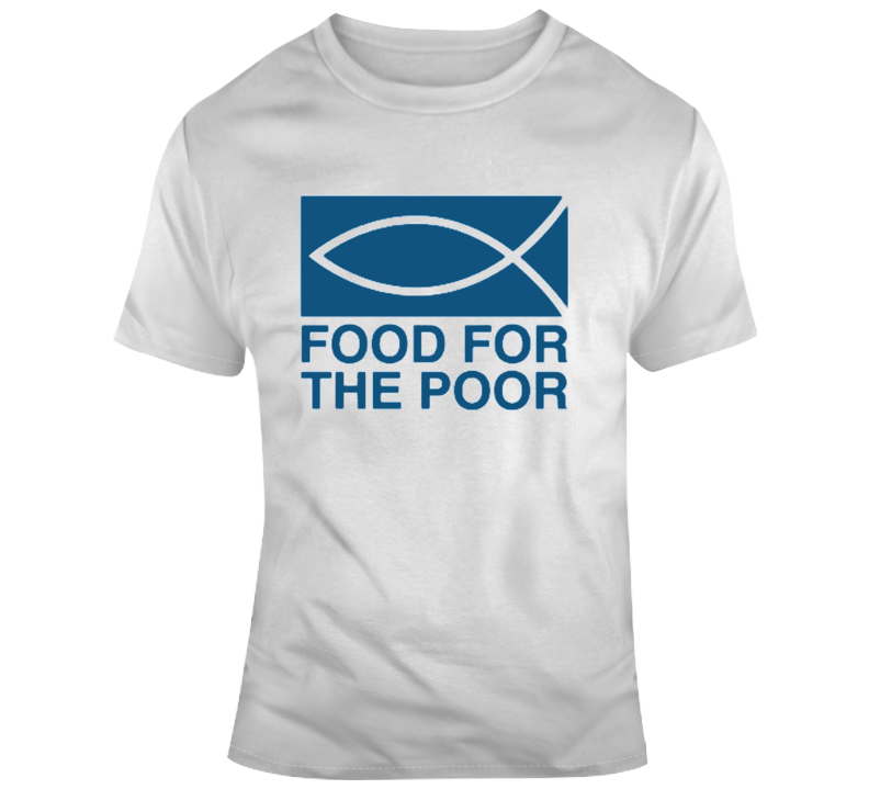 Food For The Poor Company Logo Fan T Shirt