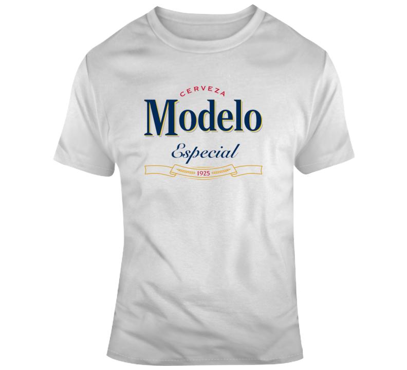 Modelo Especial Beer Fan Logo T Shirt