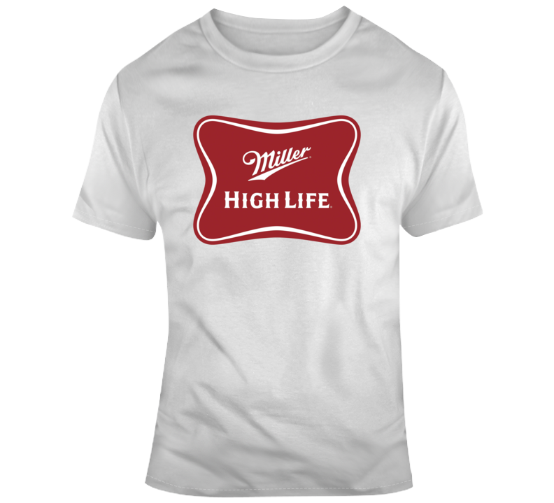 Miller High Life Company Beer Logo Fan T Shirt