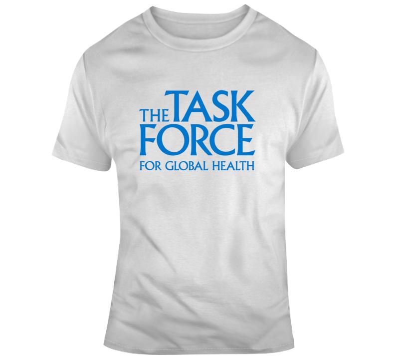 Task Force For Global Health Logo Fan T Shirt