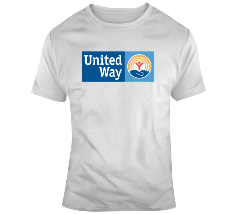 United Way Worldwide Company Logo T Shirt