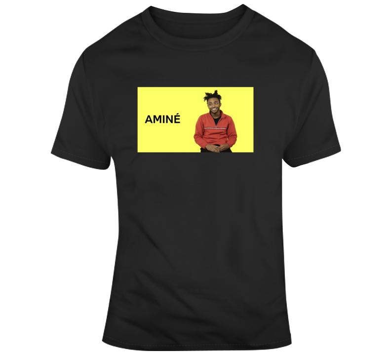 Amine Rapper Music Fan Rap Geniust- T Shirt
