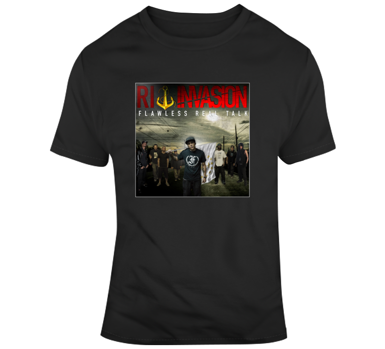 Flawless Real Talk Ri Invasion Album Cover Fan T Shirt