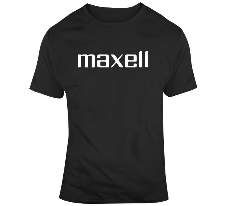 Maxwell Cassette Retro Fan T Shirt