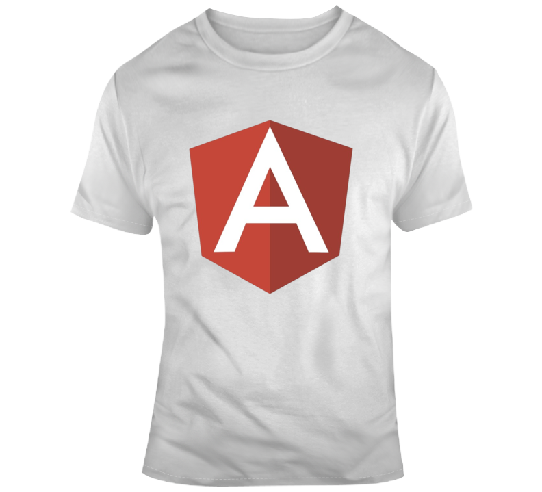 Angular Typescript Application Logo T Shirt