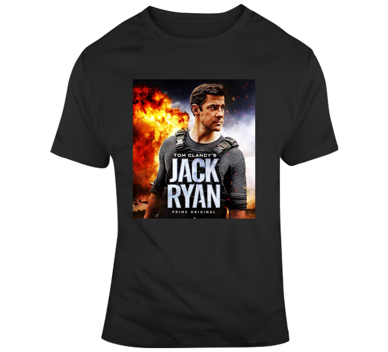 Tom Clancy's Jack Ryan Fan T Shirt