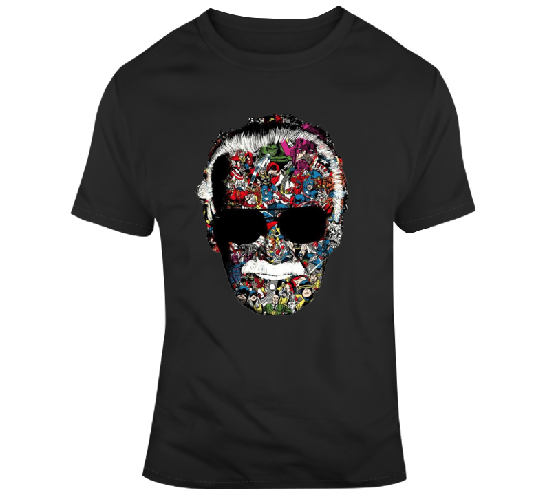 Stan Lee Man Of Many Faces T Shirt